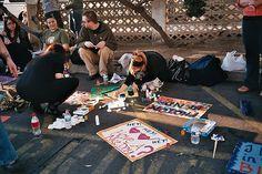 Painting for Tori Amos in Santa Barbara