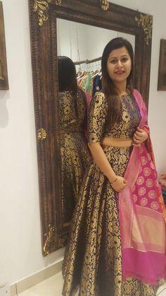 Plus Size Indian dresses Indian Lehenga, Brocade Lehenga, Lehenga Choli, Anarkali, Plain Lehenga, Bridal Lehenga, Lehenga Designs, Half Saree Designs, Kurti Designs Party Wear