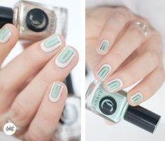 Cirque Colors metropolitan collection Spring 2016 nail art idea