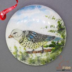 CHARMING FRIDGE MAGNET BIRD WALL DECOR DIY WHITE STONE ZR3000213 #ZL #FridgeMagnet