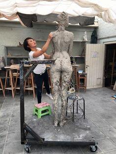 Luo Li Rong esculturas bellas mujeres 13