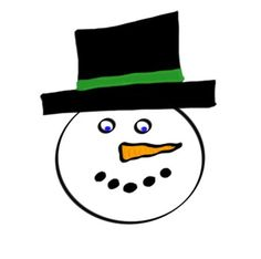 Snowman clipart faceUse policy:All Doodle Art by Jenny is drawn on a bamboo tablet and computer enhanced.  All art work is for personal or commercial use.  All that I ask is that you give credit for the use of the image(s) to my TPT site.  (Doodle Art by Jenny).