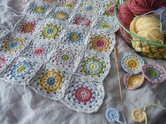 Blanket - Little Cotton Rabbits by Julie