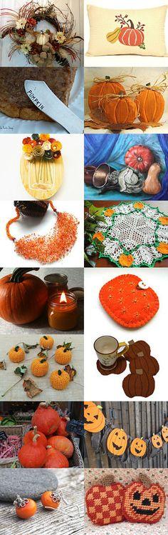 Pumpkin Soup by Karina Scott on Etsy--Pinned with TreasuryPin.com
