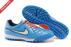 Where To Buy Cheap TF Nike Tiempo Legacy Blue/Orange Mens