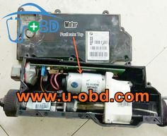BMW X5 X6 E70 EMF EPB electronic parking brake module Autohold control unit common failure repair kit repair guideline