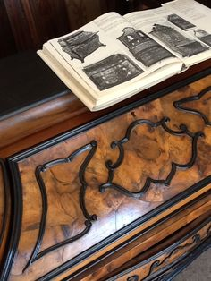 #Dettaglio #mobile / #Furniture #detail #wood #legno #carmagnani #lucidatura #restauro #verona #italia #restoration #polish