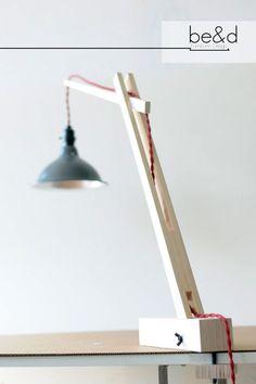 The Crane Desk Lamp by BeadFurnitureDesign on Etsy Desk Light, Lamp Light, Lamp Design, Lighting Design, Diy Luz, Desk Lamp, Table Lamp, I Love Lamp, Creation Deco
