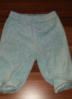 Kaufe meinen Artikel bei #Mamikreisel http://www.mamikreisel.de/kleidung-fur-jungs/hosen-hosen/24991453-hose-nicki-mit-fuss-blau-gestreift-56