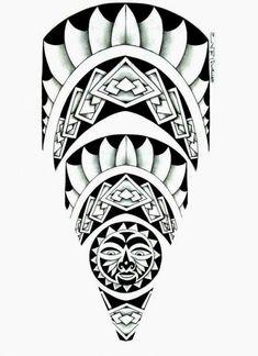 Resultado de imagem para tattoo maori desenho