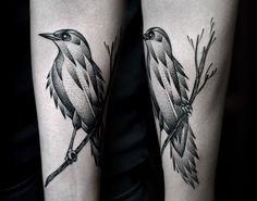 bird tattoo dotwork - Buscar con Google