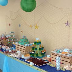 Under the sea party- What a cute idea!!