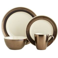 Rion Dinnerware Pier 1. dinner plates (4), salad plates (4)