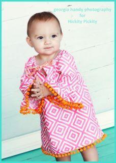 Pom Pom Dress by hickitypickity on Etsy, $42.00
