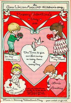 #Valentines #heart (Joan Walsh Anglund)