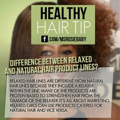 @amminarose | Difference Between Relaxed & Natural Hair Product Lines.