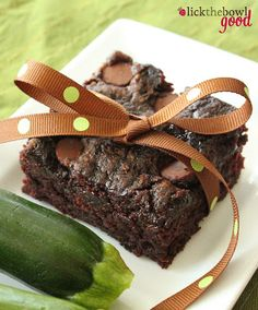 Zucchini Brownies. Added two eggs and half whole wheat flour and half white flour. Very good!