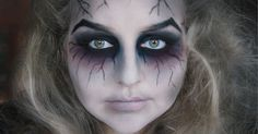 FloraLoo Two: HALLOWEEN // GHOST MAKEUP