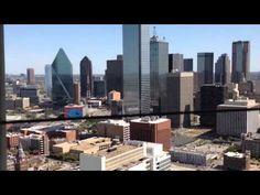 Reunion Tower- Dallas, Texas at Hyatt Regency