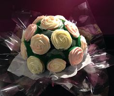 Something different for a birthday- a beautiful cupcake bouquet by CakeyBakey