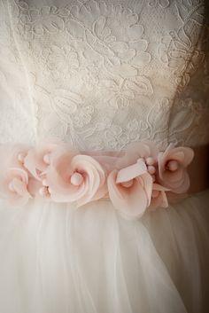 Pretty lace & Handmade flowers~❥