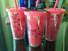 Cheers! Bachelorette Party in Vegas! Dollar Tree Tumblers ;-)