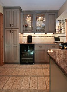 Gray Kitchen Cabinets With Black Appliances kitchen before and after | kitchens, black appliances and grey
