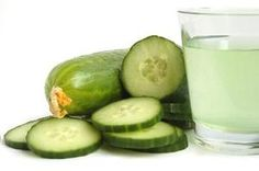 """""""Drinking cucumber juice helps you reach your recommended daily intake of vitamin K. This vitamin helps you build strong bone tissue and nourishes your kidneys....[helps with] vitamin K deficiency, which can include nosebleeds, bruising and bleeding gums...Copper ...It helps you produce healthy red blood cells, strengthens your connective tissue and boosts your immune system"""" (pain friendly plus a lot of calcium)"""