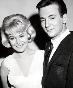 With Bobby Darin, 1960s.