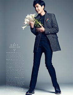 Jung Kyung Ho From Elle Korea's Share Happiness Campaign