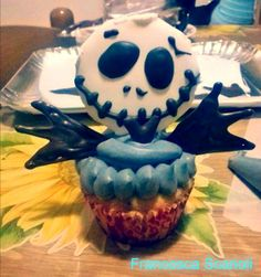 Art & Candy: The Nightmare Before Christmas inspired Cupcakes