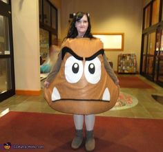 Mario Goomba - Halloween Costume Contest via @costumeworks