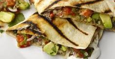 The new vegetarian: Yotam Ottolenghi makes black bean quesadilla Veggie Quesadilla, Vegetarian Quesadilla, Quesadilla Recipes, Mexican Quesadilla, Mexican Sandwich, Quesadillas, Veggie Recipes, Mexican Food Recipes, Vegetarian Recipes