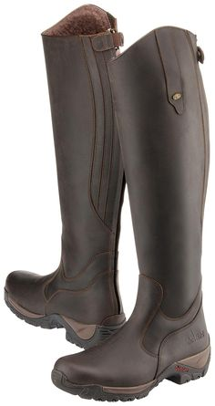 these look awesome! Durable sole looks like they can be worn everyday. Much more stylish than paddock boots with half chaps! Horse Riding Boots, Horse Riding Clothes, Riding Gear, Leather Riding Boots, Equestrian Boots, Equestrian Outfits, Equestrian Style, Bota Country, Horse Gear