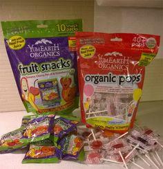 YumEarth Organic Fruit Snacks and Organic Pops