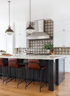 bar stools and tile