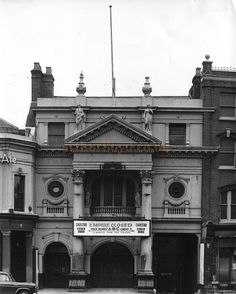 The Islington Empire, in 1962 having closed after being used as a cinema for a number of years. The Theatre was demolished shortly after this photo was taken - Photo courtesy Peter Charlton.