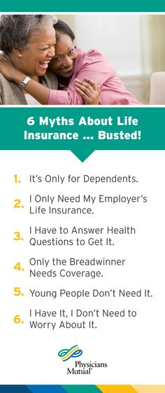 Get The Truth Behind These 6 Common Myths About Life Insurance