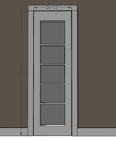 Inset Bookshelf Doorway | Ana White