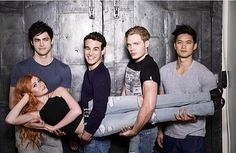 Is it just me or does the Shadow hunter cast love picking each other up?