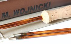 Wojnicki, Mario -- Model 275F8 -- 9' 8wt HB Hex Bamboo Rod - Vintage Fly Tackle