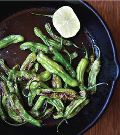 Midtown Eats has them, and I can't wait to make them! Sautéed Shishito Peppers with lemon