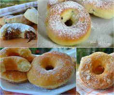 Raccolta di ricette per ciambelle dolci fritte e al forno