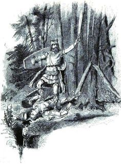 Tyr the Sword-God by Carl Emil Doepler 'The Elder' (1882)