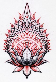 lotus tatoo - Google Search