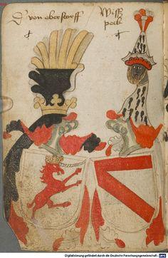 Ortenburger Wappenbuch Bayern, 1466 - 1473 Cod.icon. 308 u  Folio 38v