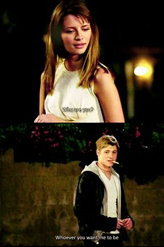 The O.C.: The Pilot (#1.01)--Best line ever. I get chills just thinking about this moment.