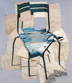 MONTAGE- David Hockney Still Life