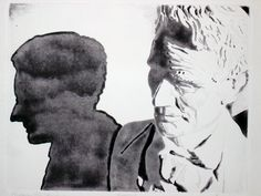 Lincoln's Shadow Artist: Edward Baranski Water Media on Paper