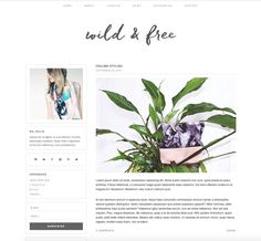 wild & free is a simplistic, modern & stylish wordpress theme. wild & free design features include: a simple dark and light grey color palette, a fixed + transparent navigation bar and a featured posts section. it is wonderfully responsive and is great for any type of blog!  this theme is for self hosted wordpress.org sites only! self-hosted means you have purchased a domain name and hosting plan for your blog/website. this is NOT for sites on the wordpress.com platform…
